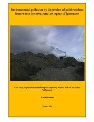 Waste Incineration Residues - Arnika