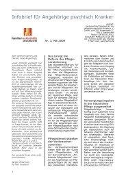 Infobrief für Angehörige psychisch Kranker - Angehoerige-hessen.de