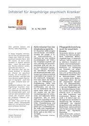 Infobrief für Angehörige psychisch Kranker - Angehoerige-hessen ...