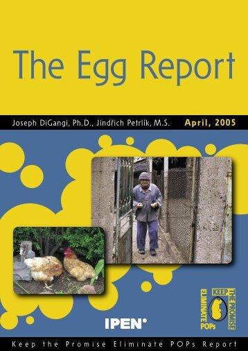 The Egg Report - International POPs Elimination Network