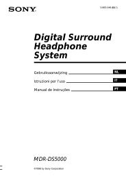 Digital Surround Headphone System