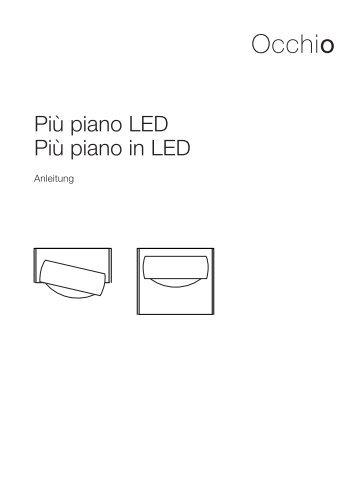 Più piano LED Più piano in LED - luxoworks