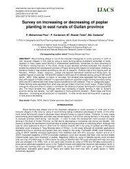 Survey on increasing or decreasing of poplar planting in east rurals ...