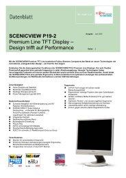 SCENICVIEW P19-2 Premium Line TFT Display – Design trifft auf ...