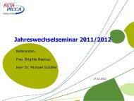 Vortrag allgemein - ASTA-PICCA IT-Systeme