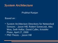 System Architecture - DAIICT Intranet