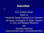 ZebraNet - DAIICT Intranet