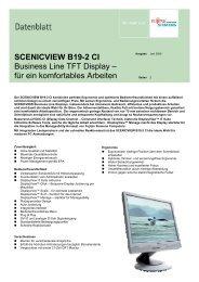 SCENICVIEW B19-2 CI Business Line TFT Display – für ein ...