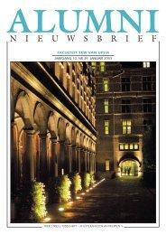 Alumni Nieuwsbrief nr 39, januari 2003 - Universiteit Antwerpen