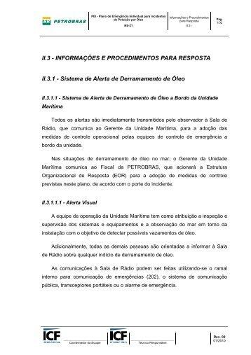II.3 - INFORMAÇÕES E PROCEDIMENTOS PARA ... - Ibama