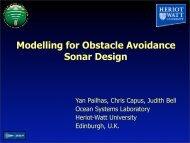 PDF file - Ocean Systems Laboratory - Heriot-Watt University