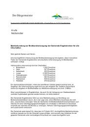 Markterkundung zur Breitbandversorgung der ... - Breitband.NRW