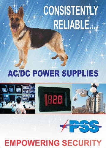 AC/DC POWER SUPPLIES