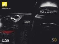 D3:n uusi kehitysaste: ISO 12 800 vakiona - Nikon