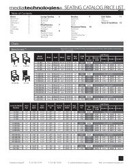 SEATING CATALOG PRICE LIST - Library and Classroom Furniture ...