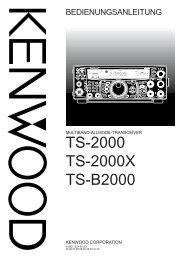 TS-2000 TS-2000X TS-B2000 - Kenwood