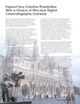 Digital Cinematography Camera - Sony - Page 3