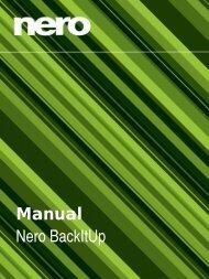 Manual Nero BackItUp - ftp.nero.com