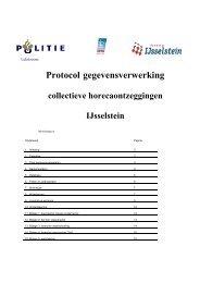 Protocol gegevensverwerking