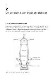 De bereiding van staal en gietijzer - Vssd