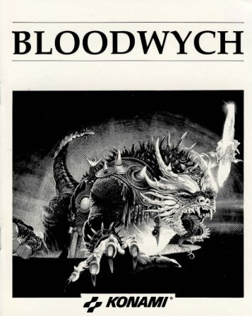 bloodwych-manual - Museum of Computer Adventure Game History