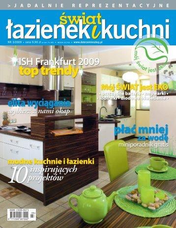 świat łazienek i kuchni nr 3/2009 - Marmorin
