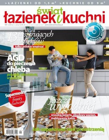 świat łazienek i kuchni nr 1/2012 - Marmorin
