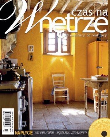 czas na wnętrze nr 4/2010 - Marmorin