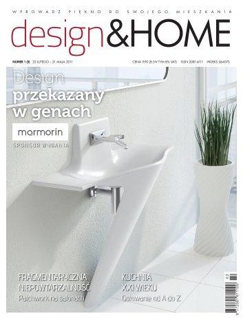 design & home nr 1/2011 - Marmorin