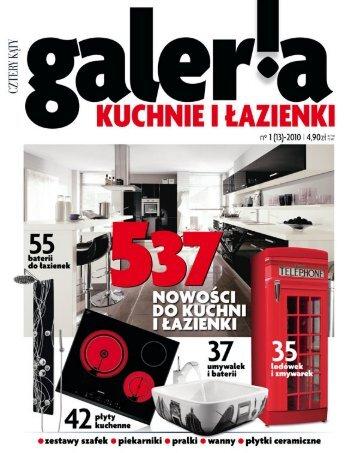 galeria kuchni i łazienek nr 1/2010 - Marmorin