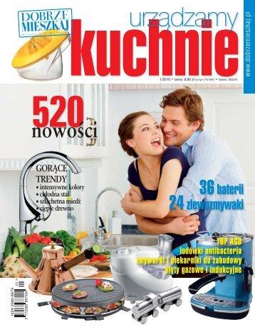 urządzamy kuchnie nr 1/2010 - Marmorin