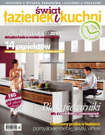 świat łazienek i kuchni nr 4/2010 - Marmorin