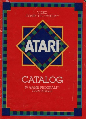 atari-49gamescatalog - Museum of Computer Adventure Game History