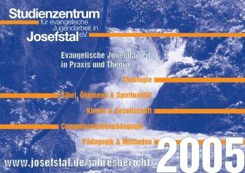 Studienzentrum Josefstale.V. - Studienzentrum für evangelische ...