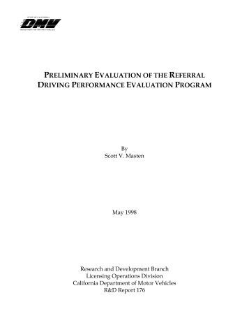 Revised dl 920 dl 924 forms california department of for Dmv motor vehicle report