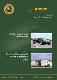 Lotus Engineering Newsletter #16