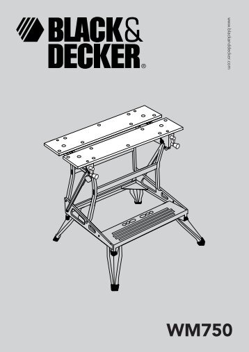WM750 - Service - Black & Decker
