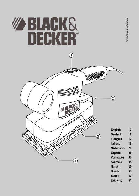 KA300 EUR.book - Service - Black & Decker