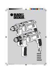 Notice d'utilisation - Service - Black & Decker