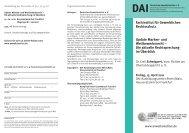 Update Marken- und Wettbewerbsrecht - Deutsches Anwaltsinstitut eV