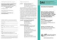 Elternunterhalt und Regress des ... - Deutsches Anwaltsinstitut eV