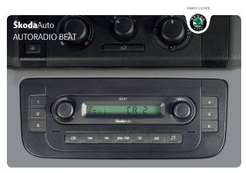 ŠkodaAuto AUTORADIO BEAT - Media Portal - Škoda Auto
