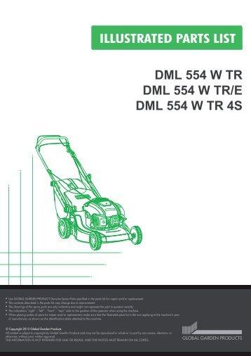 DML 554 W TR DML 554 W TR/E DML 554 W TR 4S