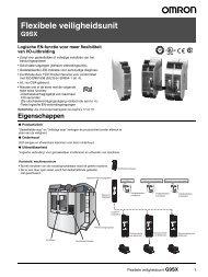 G9SX Specificatieblad