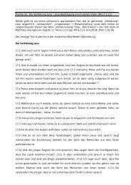 Thema 43: Die Verklärung Jesu – Jesu ... - Anskar Kirche Deutschland