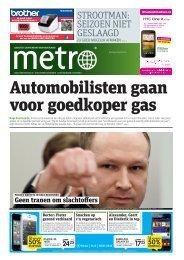 Automobilisten gaan voor goedkoper gas - Metro
