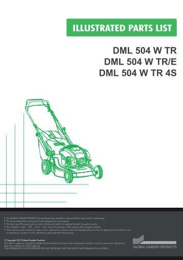 DML 504 W TR DML 504 W TR/E DML 504 W TR 4S