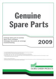 Catalogo delle parti di ricambio Spare parts catalogue Catalogue ...