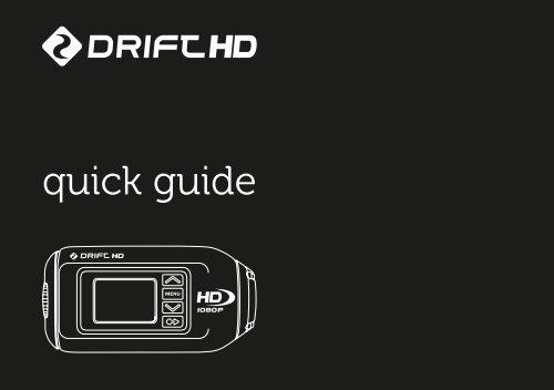 quick guide - Drift Innovation