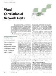 Visual Correlation of Network Alerts - ResearchGate